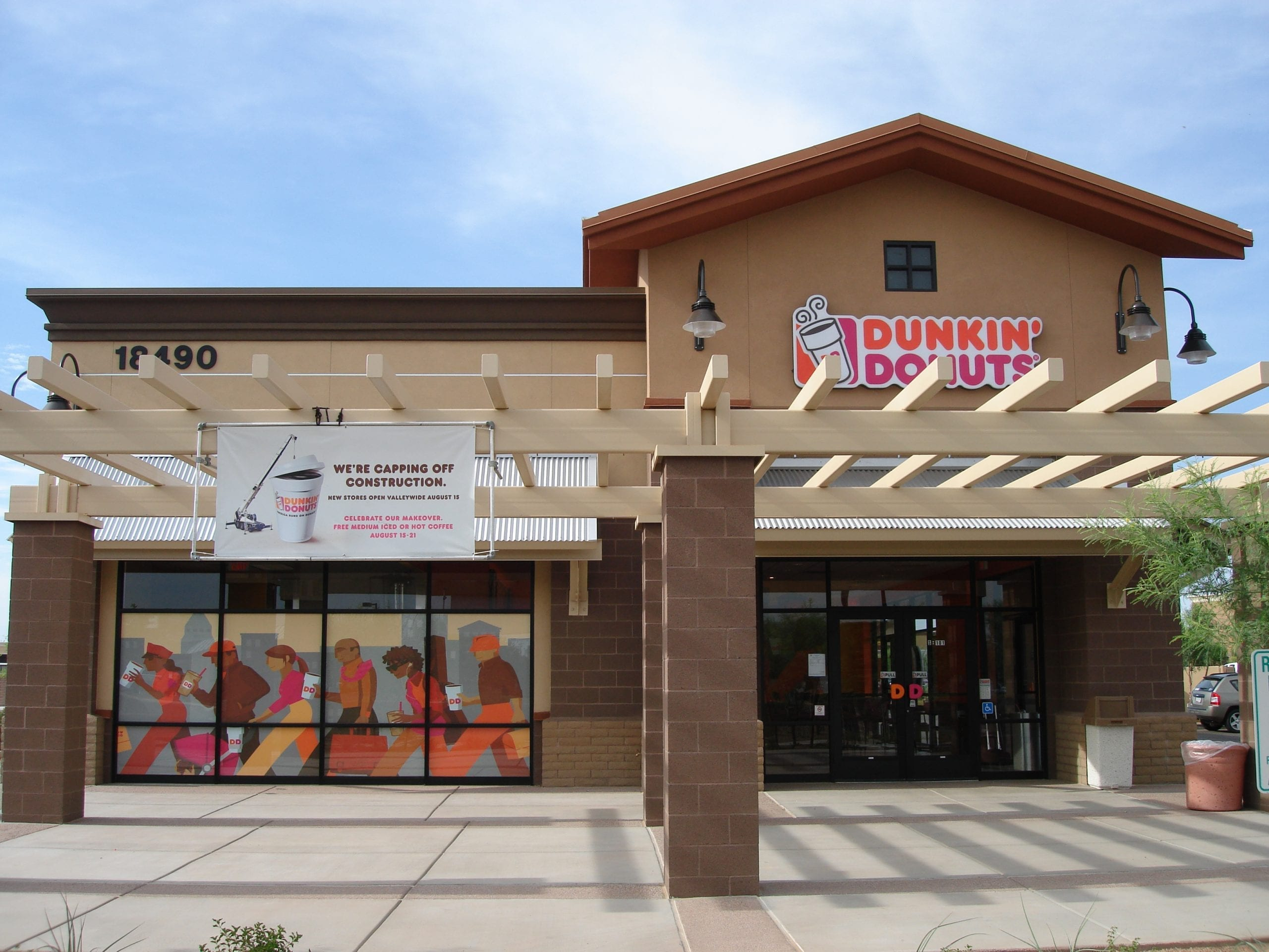 Dunkin Donuts construction management