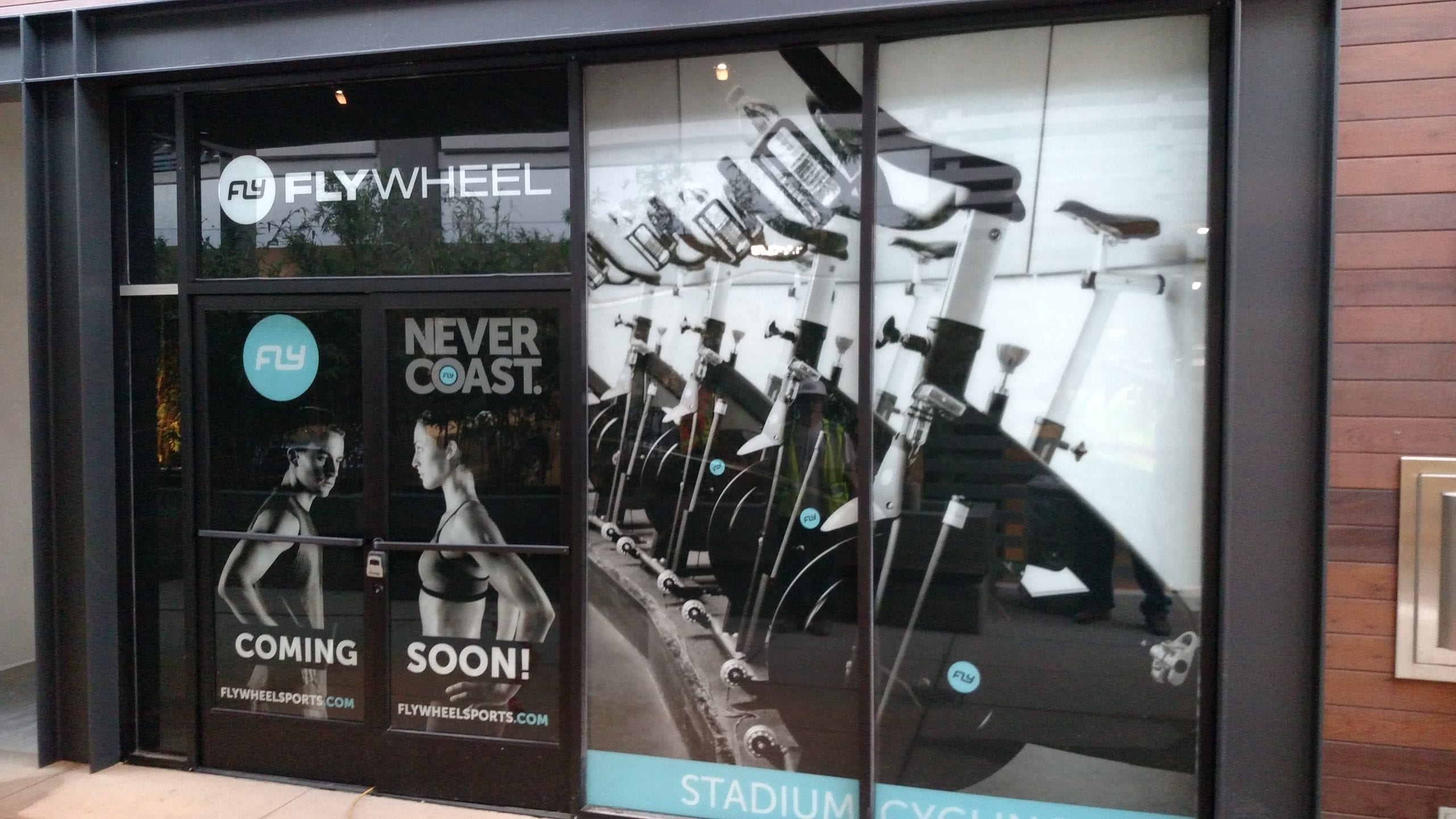 FlyWheel fitness construction